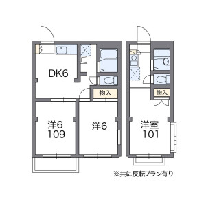 1K Mansion in Minamikase - Kawasaki-shi Saiwai-ku Floorplan