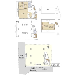 Whole Building {building type} in Kusagae - Fukuoka-shi Chuo-ku Floorplan