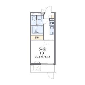 1K Mansion in Kujo - Osaka-shi Nishi-ku Floorplan