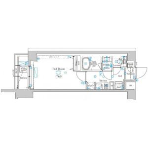 1K Mansion in Higashisakashita - Itabashi-ku Floorplan