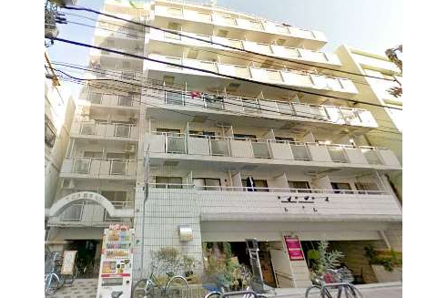 在台東區購買1R 公寓大廈的房產 戶外