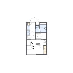西东京市芝久保町-1K公寓 楼层布局