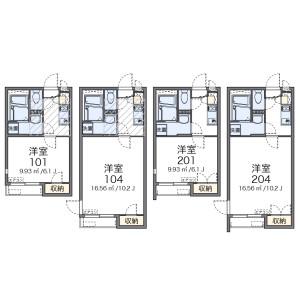 1K 아파트 in Arakawa - Arakawa-ku Floorplan