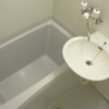 1K Apartment to Rent in Susono-shi Bathroom