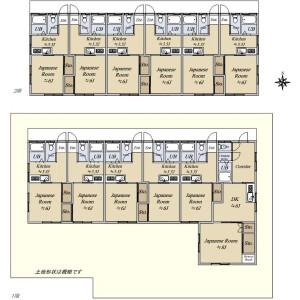Whole Building {building type} in Midorigaoka - Sagamihara-shi Chuo-ku Floorplan