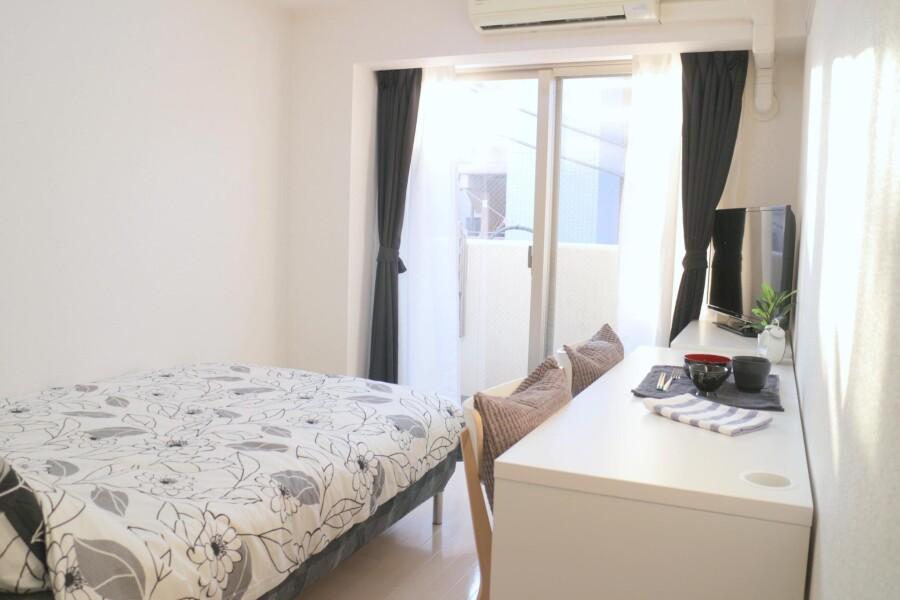 在墨田區內租賃1K 公寓大廈 的房產 臥室