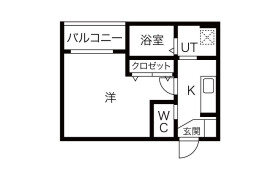 大阪市西淀川区 姫里 1K マンション