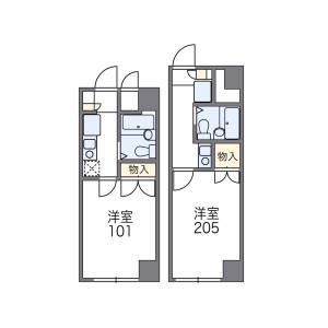 1K 맨션 in Otsuka - Bunkyo-ku Floorplan