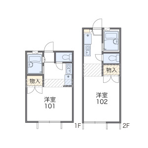 1K Apartment in Nishinippori - Arakawa-ku Floorplan