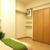 1LDK Apartment to Rent in Yokohama-shi Kohoku-ku Bedroom