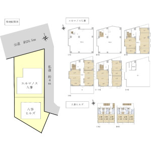 Whole Building {building type} in Yagotoyama - Nagoya-shi Tempaku-ku Floorplan