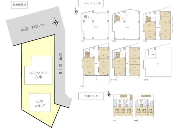 Whole Building Apartment to Buy in Nagoya-shi Tempaku-ku Floorplan