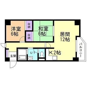 Whole Building {building type} in Higashisapporo 3-jo - Sapporo-shi Shiroishi-ku Floorplan