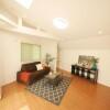 在目黒區購買3LDK 獨棟住宅的房產 起居室