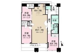 3LDK Mansion in Tomihisacho - Shinjuku-ku