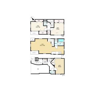 1SLDK {building type} in Izumi - Suginami-ku Floorplan