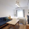 1K Serviced Apartment to Rent in Shibuya-ku Bedroom