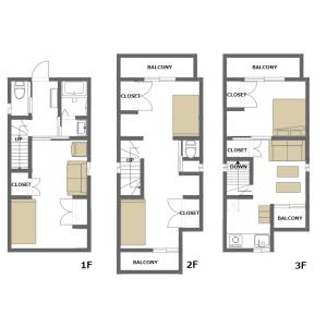 4LDK House in Hatagaya - Shibuya-ku Floorplan