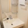 1R Serviced Apartment to Rent in Ota-ku Washroom