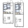 1K Apartment to Rent in Amagasaki-shi Floorplan