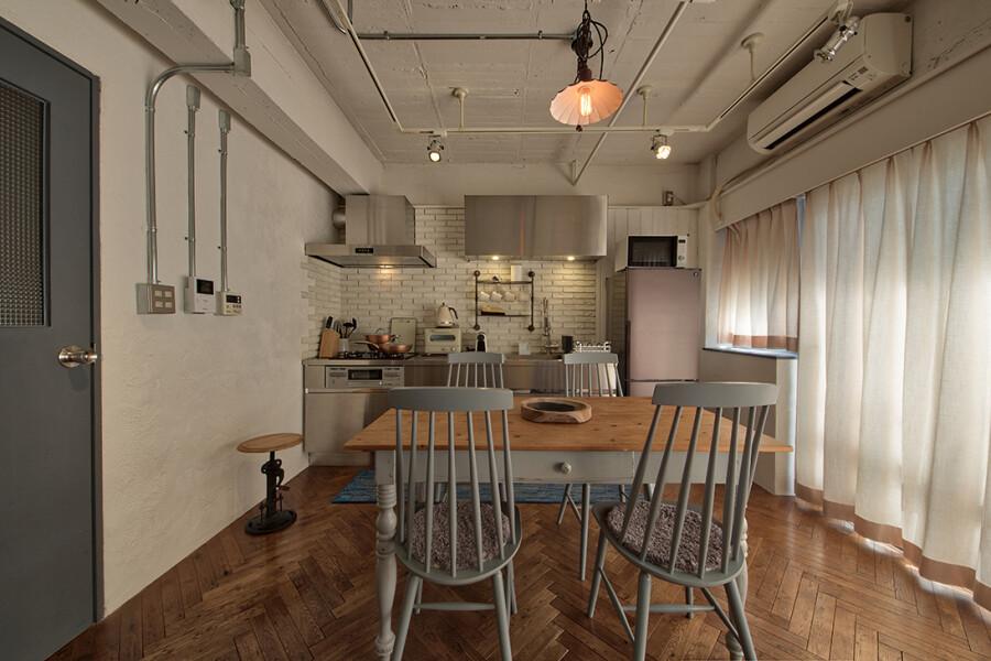 2LDK Serviced Apartment to Rent in Meguro-ku Interior