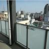 1LDK Apartment to Rent in Kita-ku Balcony / Veranda