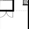 1K Apartment to Rent in Sapporo-shi Nishi-ku Floorplan