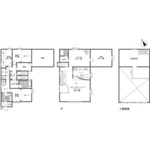 4LDK {building type} in Yamada - Abuta-gun Kutchan-cho Floorplan