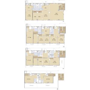 Whole Building {building type} in Sumiyoshicho - Shinjuku-ku Floorplan