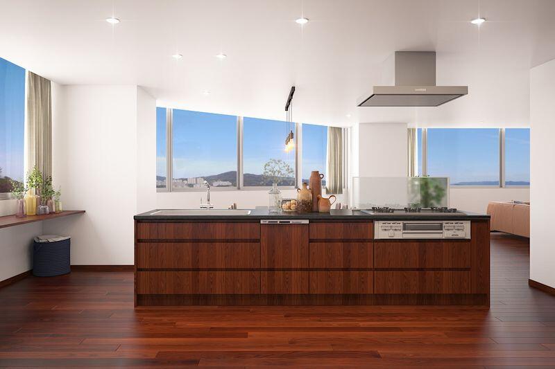 3SLDK Apartment to Buy in Shinjuku-ku Kitchen
