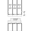 1K Apartment to Rent in Saitama-shi Kita-ku Layout Drawing