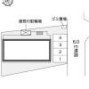 1K Apartment to Rent in Yachiyo-shi Layout Drawing