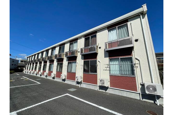 1LDK Apartment to Rent in Ishioka-shi Exterior