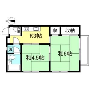 2K Mansion in Shimotakaido - Suginami-ku Floorplan