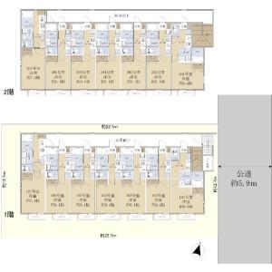 Whole Building {building type} in Nishigaoka - Kita-ku Floorplan
