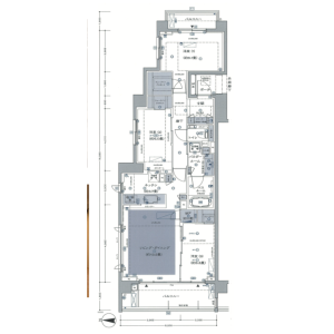 3LDK Mansion in Sendagaya - Shibuya-ku Floorplan