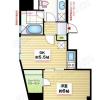 在港區內租賃1DK 公寓大廈 的房產 房間格局