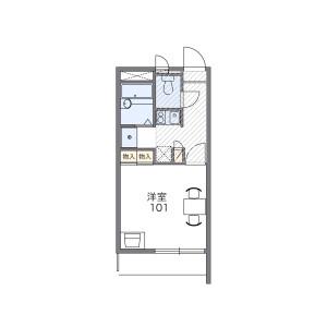 1K Apartment in Higashiikebukuro - Toshima-ku Floorplan