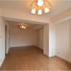 在涩谷区购买2LDK 公寓大厦的 起居室