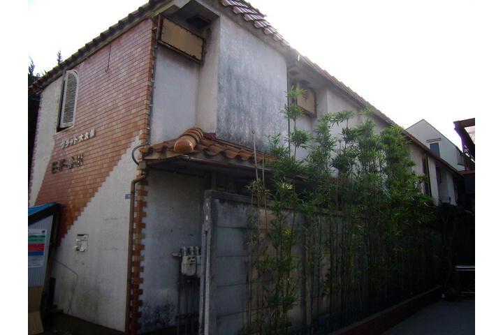 1R アパート 新宿区 外観