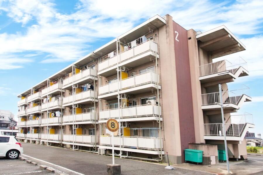 在枚方市内租赁1DK 公寓大厦 的 户外