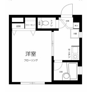 1K Mansion in Higashiikebukuro - Toshima-ku Floorplan