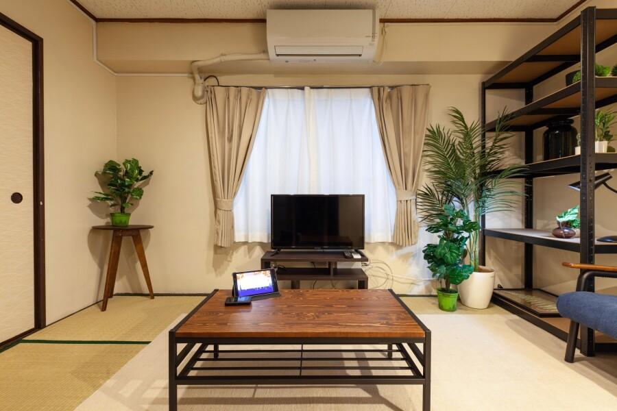 1K マンション 新宿区 ベッドルーム