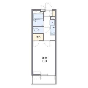 1K Mansion in Shinkamagaya - Kamagaya-shi Floorplan