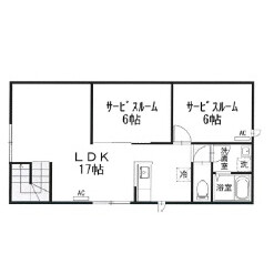 1SLDK Mansion in Jiyugaoka - Meguro-ku Floorplan