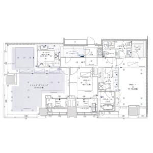 2LDK Mansion in Mita - Minato-ku Floorplan