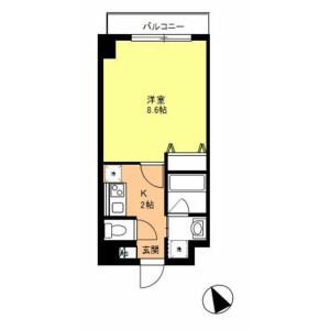 1K Mansion in Otsuka - Bunkyo-ku Floorplan