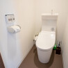 1LDK Apartment to Rent in Shibuya-ku Toilet