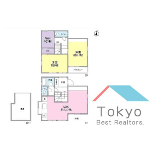 2SLDK House in Higashinakano - Nakano-ku Floorplan