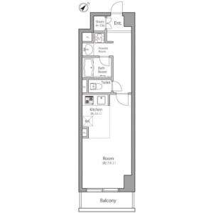 1R Mansion in Suido - Bunkyo-ku Floorplan